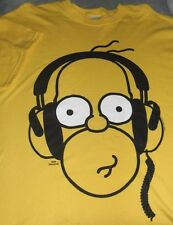 T-shirt The Simpsons Homer mens size M new Matt Groening cotton short sleeve