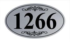 Personalized House Address Sign Plaque Aluminum Won't Fade, Peel or Chip HP011