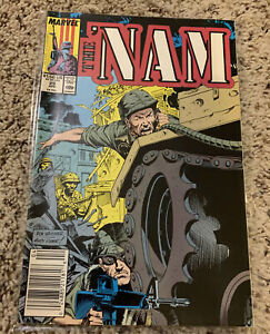 The 'Nam #29 FN 1989 Marvel Comic Newsstand Edition