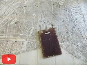 Amsterdam Netherlands 1715-1814 Visscher Covens & Mortier rare linen city plan