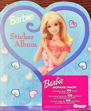 **RARE** Sandylion BARBIE (2000) Album/Book with over 100 STICKERS *NEW IN PACK*