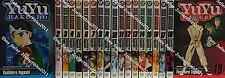 YuYu Hakusho ( Vol. 1-19 ) English Manga Graphic Novels SET lot New Complete