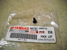 NOS OEM Yamaha Front Master Cylinder Screw 1994-2005 YZ80 TR125 YZ450 98707-0412