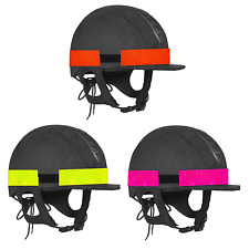 High Visibility Reflective Hat Band Horse Rider Safety Visibility One Size Fit