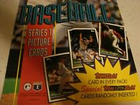 1994 Topps Stadium Club Baseball Card Box Series 1 Poster Came in Unopened Box