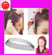 Elegant Women Hair Styling Tool Curve Clip Pin Invisible For Bang Fringe Black