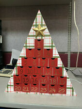 Christmas Triangle Decor Countdown
