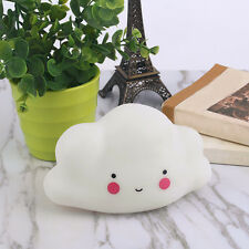 Cute Cloud Smile Face Night Light Children Bedroom Decor Mini LED Lamp Bulb HOT.