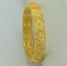 Gold Tone Bridal Bangle set Bracelet Wedding Indian Bollywood Jewelry