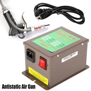 Antistatic Air Gun Lonizing Electrostatic Gun with High Voltage Generator 110V