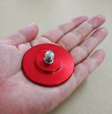 "VARAVON 3/8"" Screw Big Red Knob Stainless Aluminum for Camera Tripod Plate"