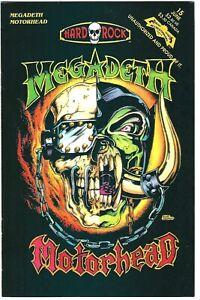 Hard Rock Comics #15 (1993)  VF  Megadeth - Motorhead - Faith No More
