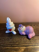 Disney Porcelain Figurines China- Pair Of Mad Hatter & White Rabbit