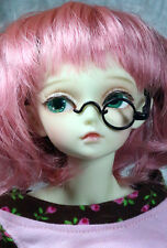 1/4 scale Msd Dollfie 42cm size eyeglasses eye glasses Bjd Black Frame Monocle