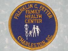 "Franklin C. Fetter Family Health Center Patch - Charleston SC - 3"" x 3"""
