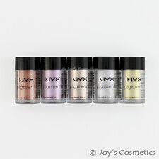 "5 NYX Pigments Eyeshadow Powder Set - PIG "" Nude on Nude ""   *Joy's cosmetics*"