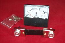 DC 150A Analog Ammeter Panel AMP Current Meter DC 0-150A 67*70MM with Shunt