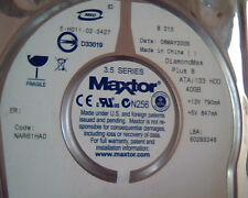 Hard Disk Drive IDE Maxtor E-H011-02-3427 DiamondMax Plus 8 40GB 6E040L0711214