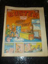 BUSTER & MONSTER FUN Comic - Date 19/03/1977 - UK Paper comic
