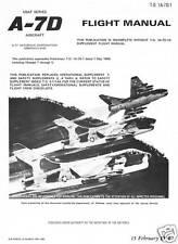 VOUGHT ( LTV ) A-7D CORSAIR II - USAF FM T.O. 1A-7D-1