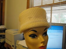 Vintage 50/60s Vebe Orignal White Hat, with Box and For