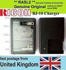 Genuine Original RICOH BJ-10 Charger PX CX6 CX5 CX4 CX3 for DB-100 D-LI92 LI-50B