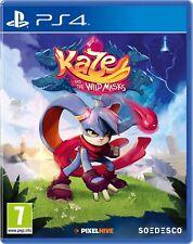 Kaze y el salvaje máscaras | PS4 PlayStation 4 Nuevo