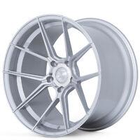 """(4) 20x10"""" Ferrada Wheels F8-FR8 Silver Machined Rims (B5)"""