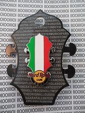 Hard Rock Cafe Rome 2014 - Core Headstock Italien Flag Pin on Card