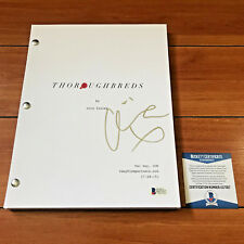 OLIVIA COOKE SIGNED THOROUGHBREDS FULL 99 PAGE MOVIE SCRIPT w/ BECKETT BAS COA