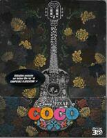 Blu Ray 3D + 2D : Coco - Disney - Ed Steelbook - NEUF