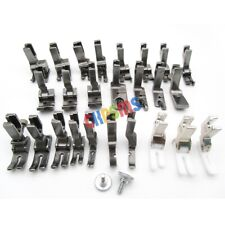 25PCS PRESSER FEET SET FIT FOR JUKI BROTHER SINGER CONSEW HIGH SHANK