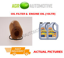 DIESEL OIL FILTER + LL 5W30 ENGINE OIL FOR TOYOTA VERSO 2.0 126 BHP 2009-