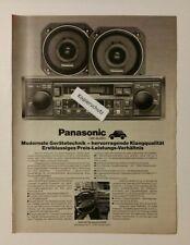 Werbeanzeige/advertisement A4: Panasonic car audio-Programm 1981 (120416141)