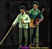 1/35 Resin Friends Vietnam War Common People unpainted unassembled CK038
