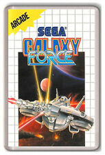 GALAXY FORCE SEGA MASTER SYSTEM FRIDGE MAGNET IMAN NEVERA