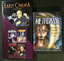Early Cinema Classics-Horror/SciFi~5 Dvds Wood Box Set+SciFi Orig/Metropolis Dvd