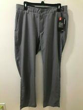 Under Armour Mens Zinc Gray 34/32 Showdown Vented Golf Pants $85 Nwt #1309549
