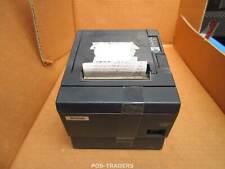 Epson TM-T88IIIP M129C POS Thermal Receipt Printer Black SERIAL -TESTED OK + PSU