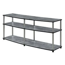 "Convenience Concepts Designs2Go 3 Tier 60"" TV Stand, Faux Birch - 131060C1"
