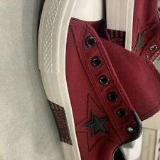 Maroon Tennis Shoes size 10