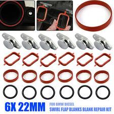 6x22mm Bouchon Clapet avec collecteur d'admission joints Pour BMW M47 M57  FR