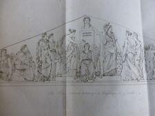 GRAVURE PEINTURE / LES MUSES RENDANT HOMMAGE A NAPOLEON LE GRAND M.Lemot