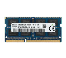 4GB 8GB Hynix DDR3L 1600MHz PC3L-12800S 2RX8 1.35V 204pin SODIMM Laptop Memory