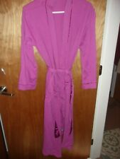WOMAN'S SMALL PINK ROBE BY LANDS END YEAR ROUND