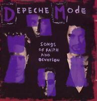 DEPECHE MODE songs of faith and devotion (CD album) EX/EX CD STUMM 106 alt rock