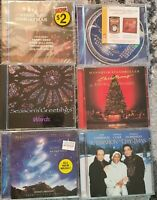 Christmas Music Lot Of 6 CDs - Some New Some Used. Mannheim Steamroller etc