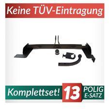 Volkswagen Caddy 9U außer pickup 95-03 Kpl. Anhängerkupplung starr+E-Satz 13p