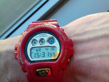 Casio G SHOCK DW-6930A-4ER 30th ANNIVERSARY RISING RED LIMITED EDITION NOS WATCH