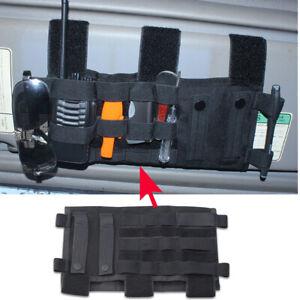 Tactical Molle Panel Car Sun Visor Organizer Card Pen Holder Belt Bag Pouch Case